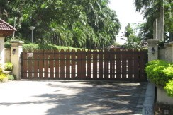 Coral Point entrance gate