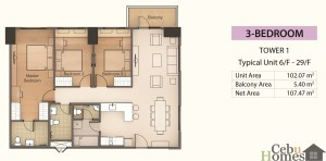 3BR Layout